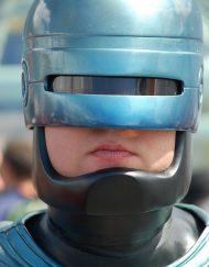 Robo Cop Lookalike