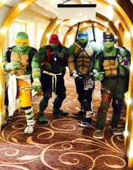 Teenage Mutant Ninja Turtles Lookalikes