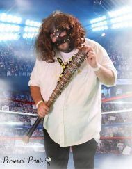 WWE Mankind Lookalike