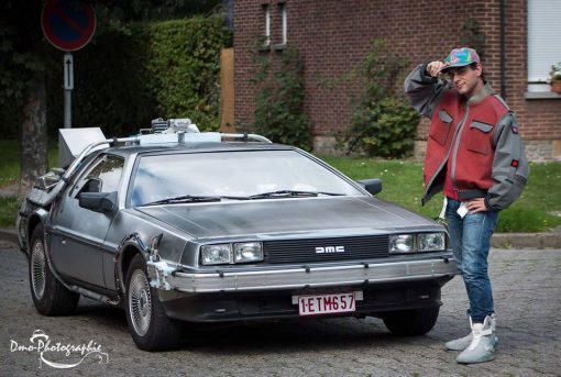 Marty Mcfly Lookalike
