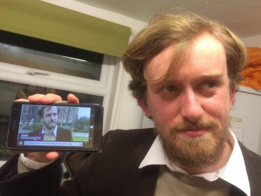 Young Jeremy Corbyn Lookalike
