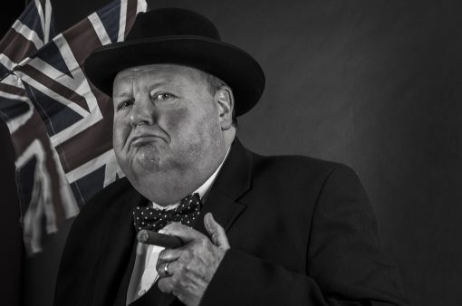 Winston Churchill Lookalike