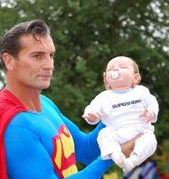Superman Lookalike