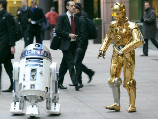 C-3PO lookalike