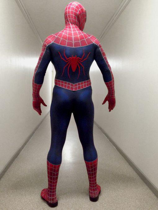 Spiderman lookalike