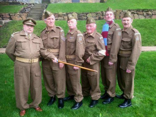 Dad's Army Lookalike