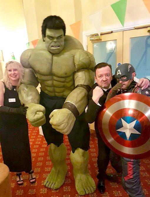 Hulk Lookalike
