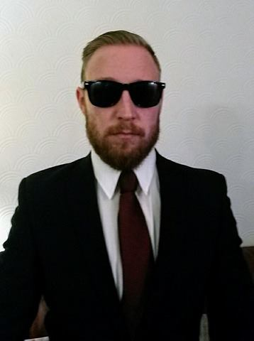 Conor McGregor Lookalike.