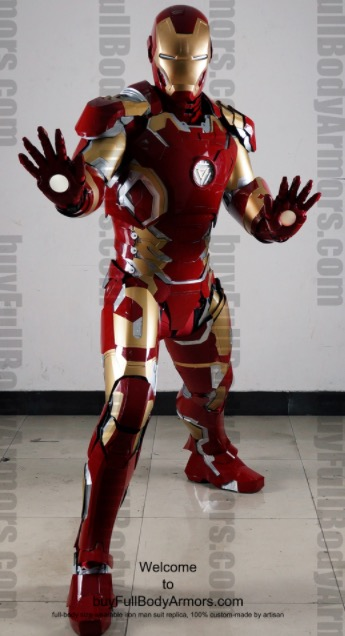 Iron Man Lookalike