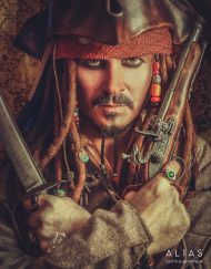 Captain Jack Sparrow Lookalike