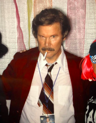 Ron Burgundy Lookalike