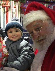 Santa Clause Lookalike
