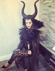 Maleficent Lookalike
