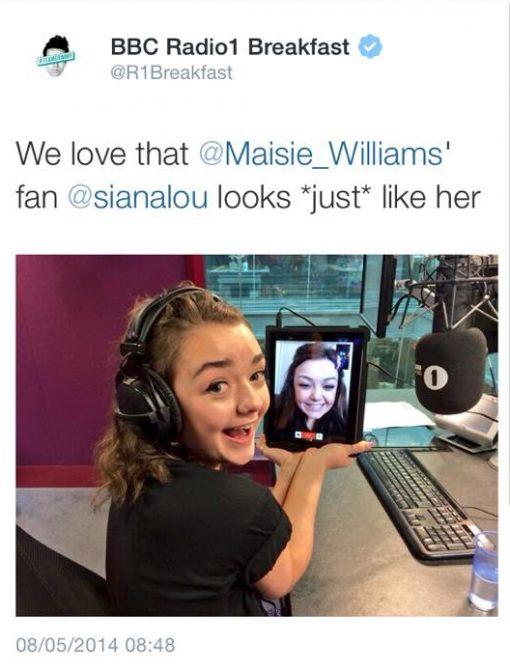 Maisie Williams Lookalike